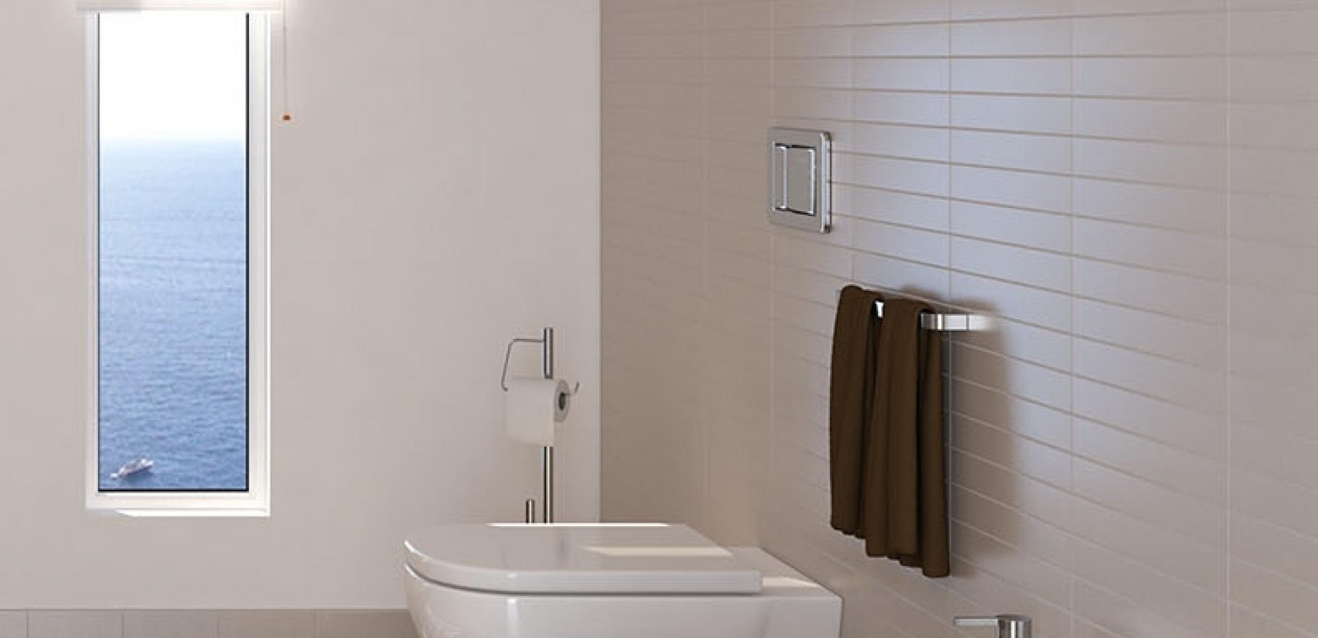 Piastrelle interni vogue system piastrelle per bagno e - Piastrelle grigie bagno ...