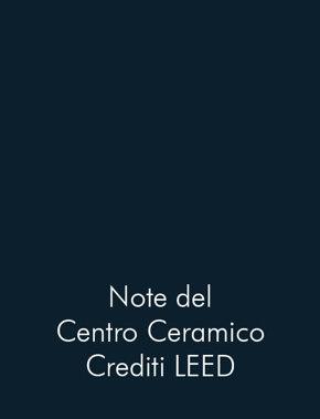 Note del Centro Ceramico crediti LEED