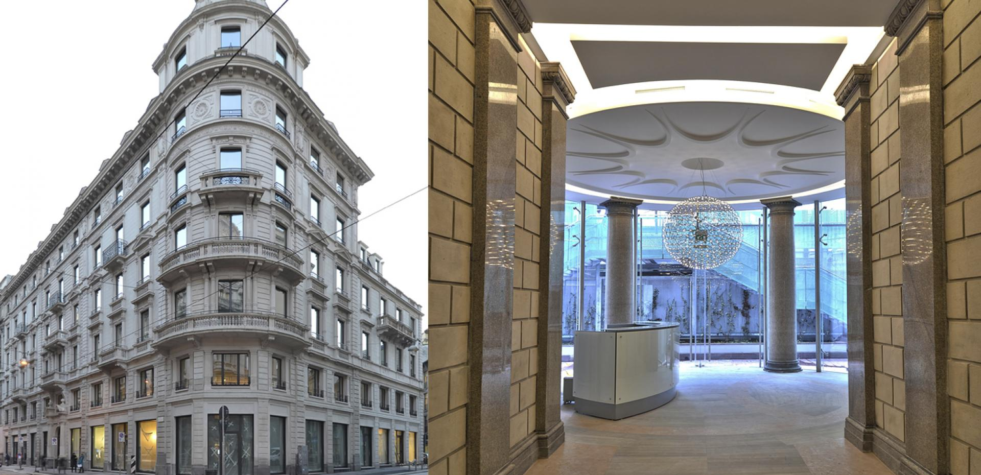 Palazzo Ravizza - C.so Italia - Milano