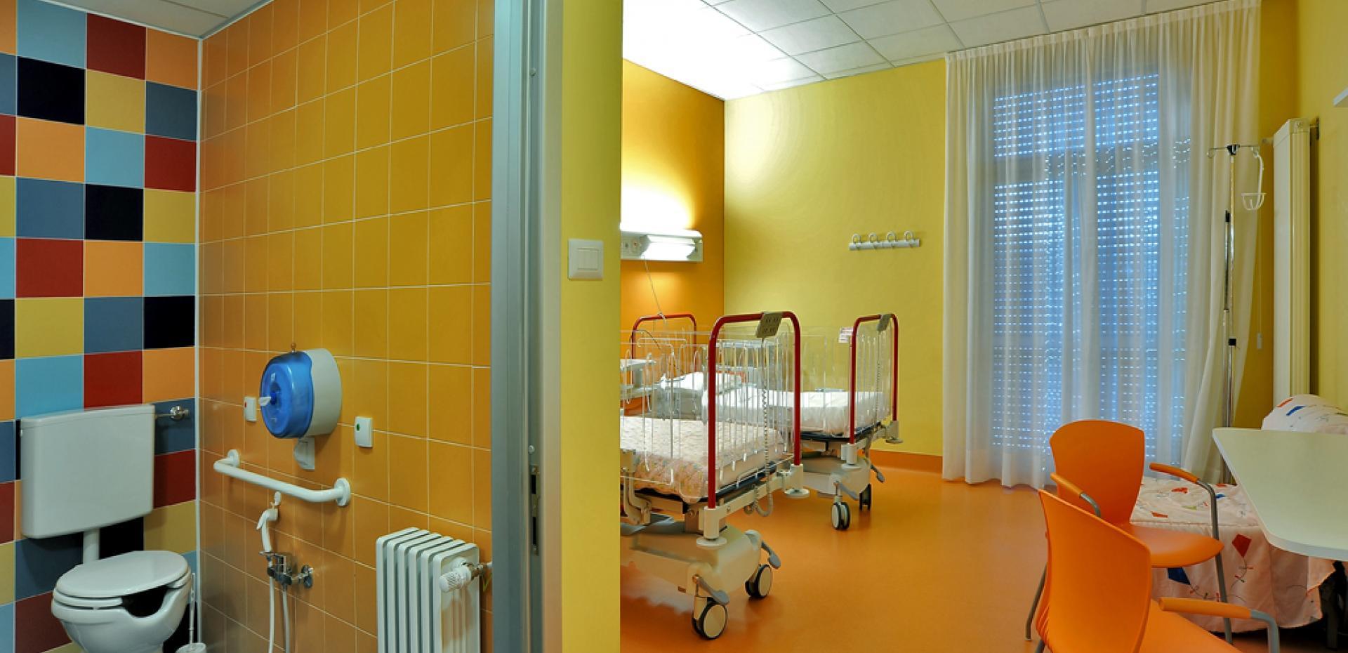 Reparto pediatria Ospedale
