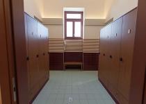 Terme Romane di Monfalcone, ingresso spogliatoio,  pavimento 20x20 IN LAGUNA